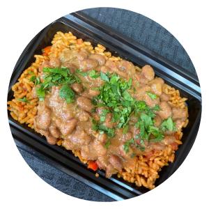 Charro Beans & Mexican Rice