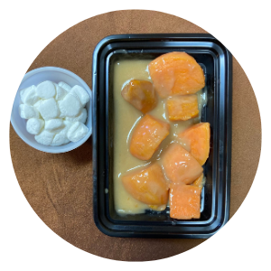 Marshmallow Glazed Sweet Potatoes