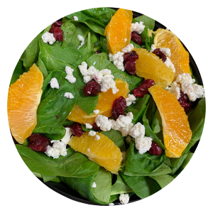 Roasted Cranberry Fall Salad